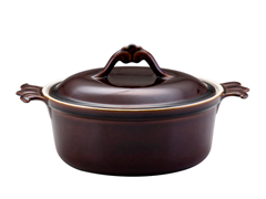 Bonjour 3.5Qt Round Covered Casserole