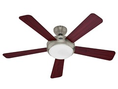 52-Inch Energy Star Ceiling Fan, Nickel