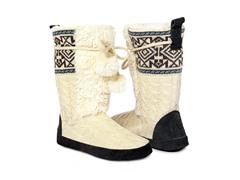 MUK LUKS ® Women's Jewel Boot, Vanilla