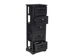 Sarina Cabinet - Black