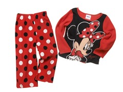 Minnie Mouse 2-Piece Fleece Set (2T-4T)