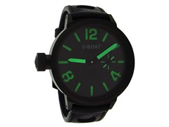 U-Boat Flightdeck, Black / Green