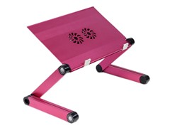 Adj Portable Laptop Table - Pink
