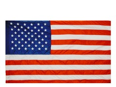 US 2.5' x 4' Nylon Flag