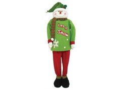 """62"""" Collapsible Snowman"""