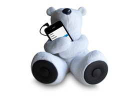 Portable Teddy Speaker