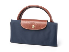 Longchamp Le Pliage Travel Bag, Blue