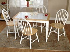 TMS 5pc Tara Tile Top Dining Set