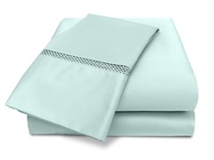 Veratex Princeton 500TC Sheet Set-Blue-5 Sizes
