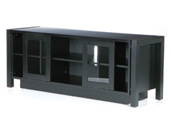SEI Black TV Stand/ Media Console