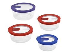 Pyrex No Leak Lids™ 8pc Set