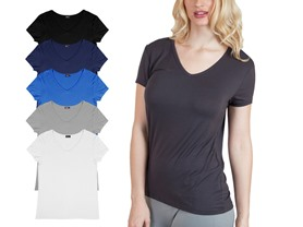 Agiato 6-pack Women's Tees - 4 Styles