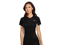 Puma TB Running Short Sleeve, Black (XS)