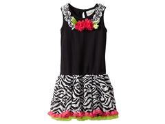 Print Tutu Dress (Sizes 2T-4T)