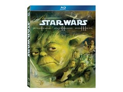 The Prequel Trilogy (Ep I-III) [Blu-ray]