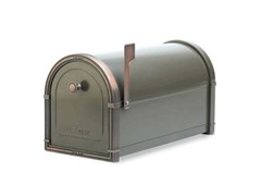 Coronado Mailbox Graphite Bronze with Copper