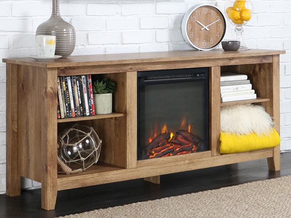 Walker Edison 58 Fireplace Tv Stand