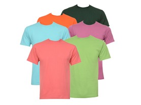 6-Pack: Men's Jerzees Tees