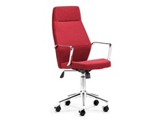 ZUO Holt High Back Office Chair Red