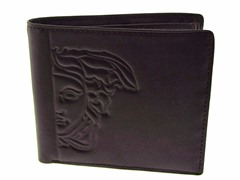 Versace Men's Black Wallet