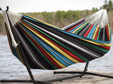 Vivere Cotton Double Hammocks & Stands