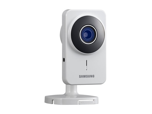 Samsung SNH-1011N SmartCam Wireless Day/Night Video Monitoring IP Camera (White)