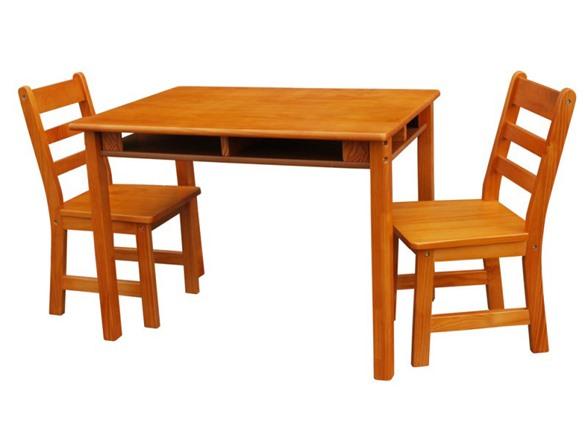 ec8a9d49046 Rectangular Table   Chair Set - 2 Colors