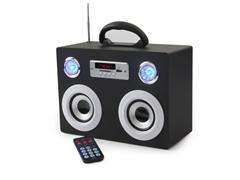 QFX Portable Media Speaker with Radio