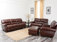 Roosevelt Leather 4-Pc Set