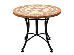 24-Inch Mosaic Accent Table