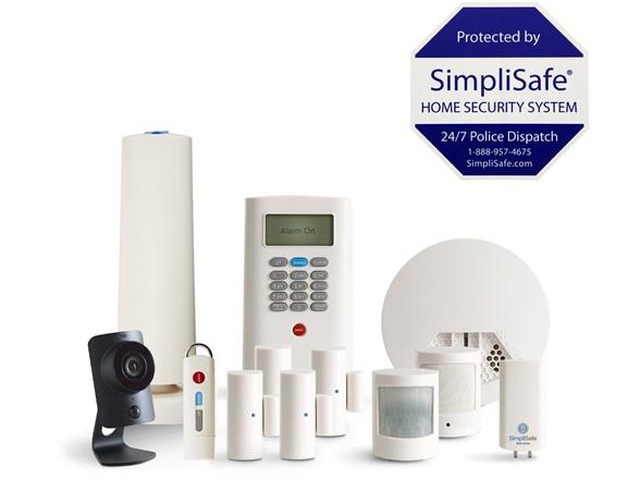 simplisafe 12 pc home security system w hd camera - Simplisafe Home Security