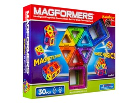 Magformers 30-Piece Rainbow Set