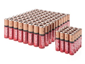 Duracell Quantum AA/AAA Batteries - 100 Pack