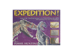"Expedition ""Tyrannosaurus Rex"" Fossil Hunting Kit"