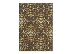 Tahiti  Brown Gold Rug (Multiple Sizes)