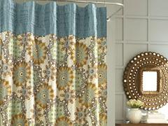 Nicole Miller Marrakesh Shower Curtain