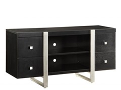 "Homelegance Metro 52"" Black TV Console"