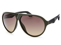 Women's Sunglasses, Green/Brown Gradient