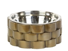 Tyson Recycled Aluminum Pet Bowl