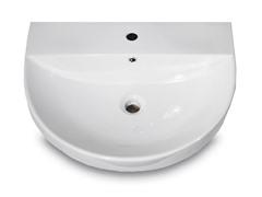 Ceramic Vessel Bathroom Sink, White