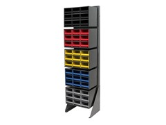 Akro-Mils Single Row Louvered Storage Rack