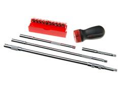 15-Piece Ratcheting GearDriver Set