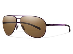 Ridgeway Polarized - Brown/Matte Purple