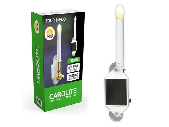 Touch Of ECO Solar Window Candles, 2 Pack HG95142A