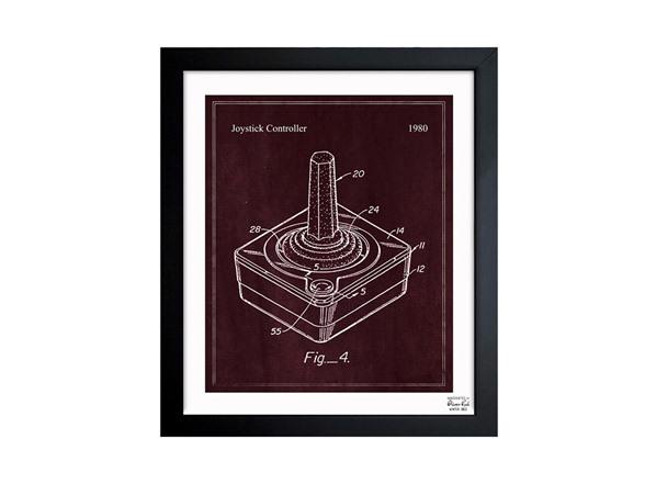 Joystick controller 1980 blueprint art malvernweather Image collections