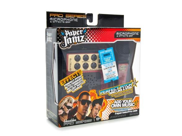 paper jamz pro mic Shop paper jamz boy pro microphone (black) free delivery and returns on  eligible orders of £20 or more.