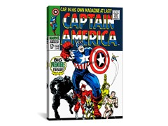 Captain America Cover #100