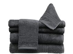 6Pc Towel Set-Sable
