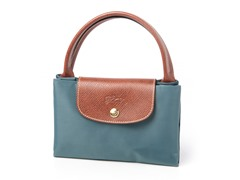 Longchamp Le Pliage Handbag, Blue