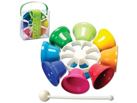 Schylling Rainbow Musical Spin Bells